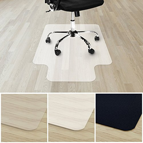 casa pura Office Chair Mat with Lip for Hard Floors | Floor Protector for Office and Home Desk Chairs | 100% BPA, Phthalate & Odor Free | Opaque | 36'' x 48'' by casa pura