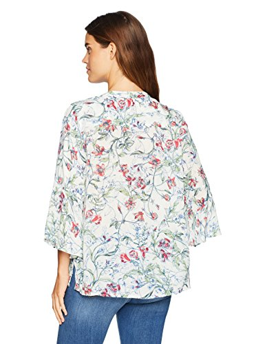 Blusa Manga Sketch Mujer Nine Botanical Print West 3 30024370 4 Raspberry sa2 gzq0Iw