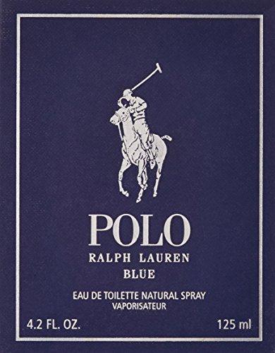 Polo Blue by Ralph Lauren for Men, Eau De Toilette 4.2 Ounce
