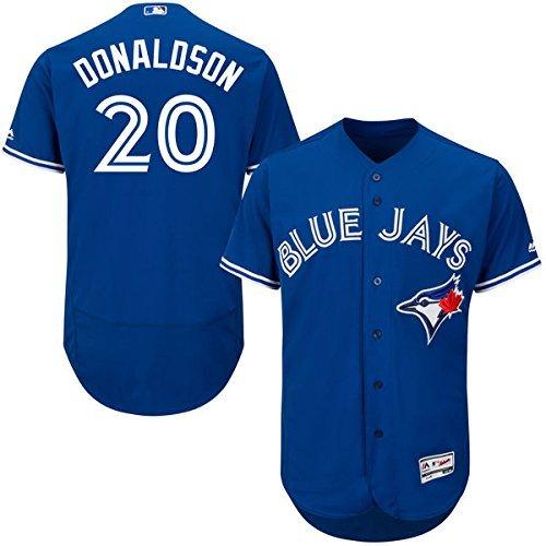 Majestic Josh Donaldson Toronto Blue Jays #20 Youth Alternate Jersey Blue (Youth Small 8)