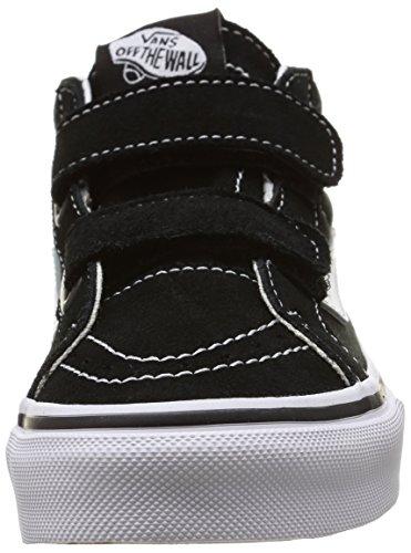 Vans - Sk8-mid Reissue V, Zapatillas Niños-Niñas Black/True White