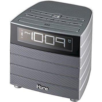 iHome iBN20GC Bluetooth wireless FM Clock Radio with USB Cha