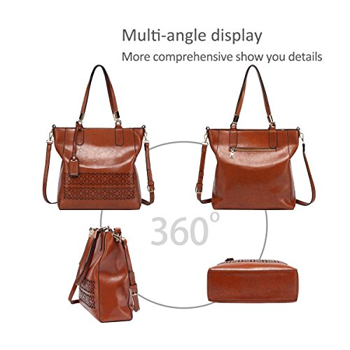 NICOLE Leather red Shoulder Purse Wine New Bag amp;DORIS Designed Hollow 2018 Red Ladies for PU Fashion Handbags Navy FXwXrq17