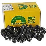 Holo-Krome 76176, M6x1.0x25mm Socket Cap Screw, Steel, Black Oxide, UNC, USA, 100/Pk