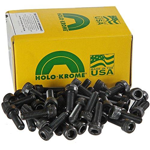 Holo-Krome 76176, M6x1.0x25mm Socket Cap Screw, Steel, Black Oxide, UNC, USA, 100/Pk by Holo-Krome