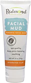 product image for Redmond Facial Mud, Hydrated Clay, 4 Ounce Tube (1 Pack)
