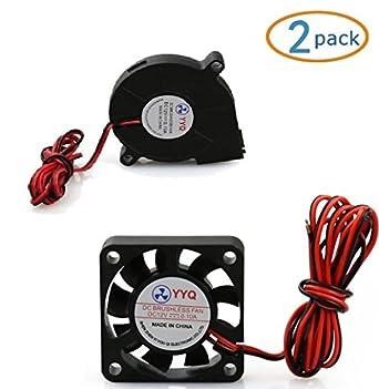 Amazon Com Alunar Blower Cooling Fan 12v Dc Brushless For