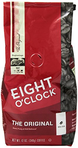 Eight O'clock Original Whole Bean Coffee, 12 oz