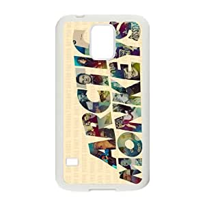 Stylish British Rock Band Design Plastic Case Protector for Samsung Galaxy S5 by lolosakes