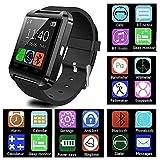 FAIYIWO Hot U8 Smartwatch Bluetooth Outdoor Sports Wrist Watch Handsfree for Andriod iOS FAIYIWO Dark Blue, Size : U8 Smart Watch