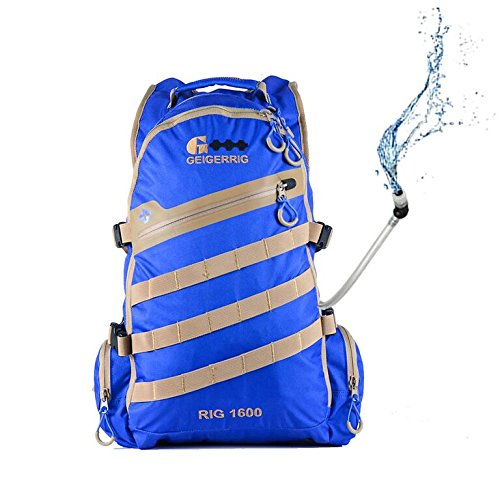 Geigerrig Pressurized Hydration Pack – RIG 1600M – Blue Review