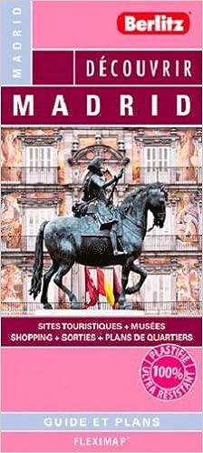 Le guide + plan Madrid (Berlitz)
