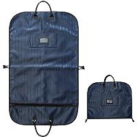 Kobwa bolsas para ropa, bolsa de almacenamiento para trajes de negocios, para hombres y mujeres, estudiantes, bolsa de traje con cierre y ojal de metal y asas de transporte para portadores de trajes, vestidos, almacenamiento o viaje