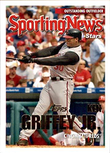 (Ken Griffey Jr. HOF CINCINNATI REDS 2005 Topps Update #162 All-Star (Box176MP))