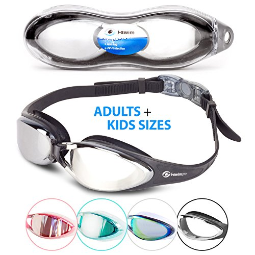 i-Sports Pro Anti-Fog, UV Protected Swim Goggle, - Triathlon Gear