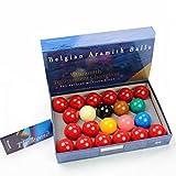 Aramith Tournament Champion 2 1/16inch Full Size Snooker Ball Set