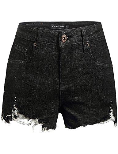 Pantaloncini Mia Donna Nero 38 Camii q6OC5x