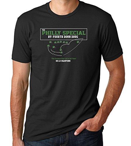 Sexy Girl Rock | Philly Special Shirt - Philadelphia Underdogs T-Shirt - Fourth Down Doug - Championship Men's Fan Tee