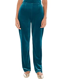 4153517a927 Chico s Women s Travelers Collection Velvet No Tummy Pants