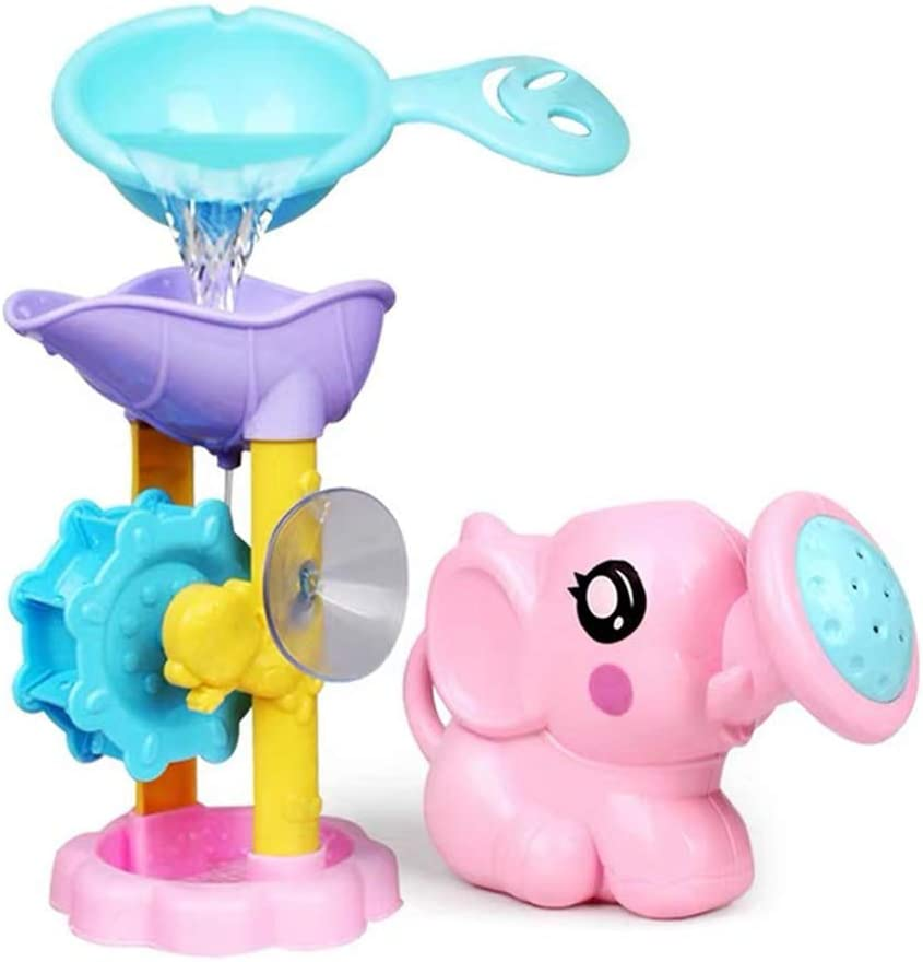 3 Piezas Elefante Chorro de Agua Beb/é Ba/ño Juguete,Juguetes de Ba/ño de Beb/é de Elefante Lindo,Regalo de Juguete de Ba/ño para Lavabo Infantil de Ducha Color Aleatorio