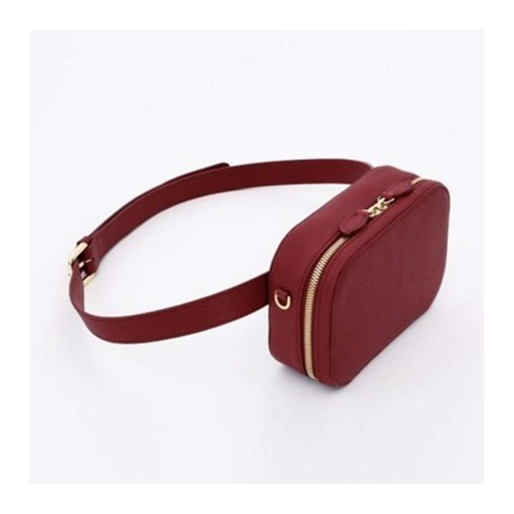 5e8e6f94ef43 Amazon.com : HAOLIEQUAN Waist Pack Waist Bag Women Round Belt Bag ...