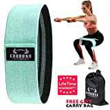 COOBONS Resistance Bands for Legs and Butt,Exercise Bands Hip Bands Booty Bands Wide Workout Bands...