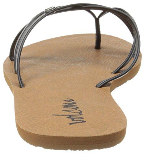 Blau Volcom Femme Lo Tongs noir Sneaker Sneaker Shoe Noir qqtwx6A7r