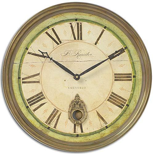 Uttermost Regency B. Rossiter Wall Clock (1 Bulb Regency)