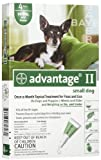 Cheap Advantage Dog Flea Topical Green 0-10 lbs. (4 Pack)