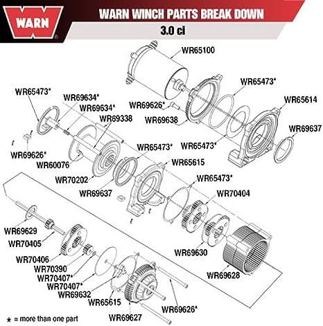 warn atv winch parts diagram amazon com warn winch thrust washer automotive  amazon com warn winch thrust washer