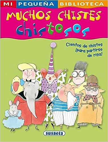 Muchos chistes chistosos (Mi Pequeña Biblioteca): Amazon.es: Equipo Susaeta, Margarita Menéndez: Libros