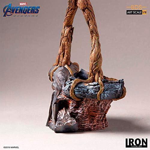 Iron Studios Groot BDS ART SCALA 1//10 mossa finale Avengers