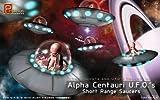 Alpha Centauri UFOs Short Range Saucers 1-32 Pegasus by Pegasus Hobby