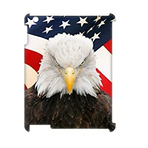Bald Eagle Brand New 3D Cover Case for Ipad2,3,4,diy case cover ygtg579794