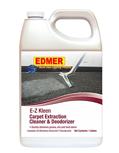 Edmer EZ Kleen Carpet Extraction Cleaner & Deodorizer - 4 Gallons per Case ()