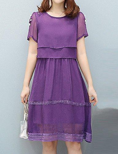 abito da linea una sera Dress nbsp; da SHAUIGUO formale sofisticato donna Street chic wfEnq4U5