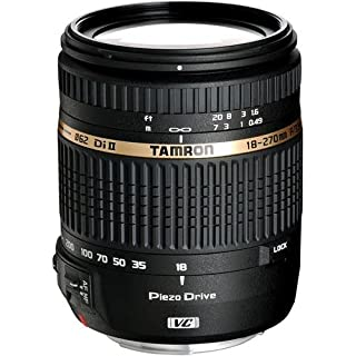 Tamron Auto Focus 18-270mm f/3.5-6.3 VC PZD All-In-One Zoom Lens for Canon DSLR, Model BOO8E Filter Size 062mm (B004FLJVXM) | Amazon price tracker / tracking, Amazon price history charts, Amazon price watches, Amazon price drop alerts