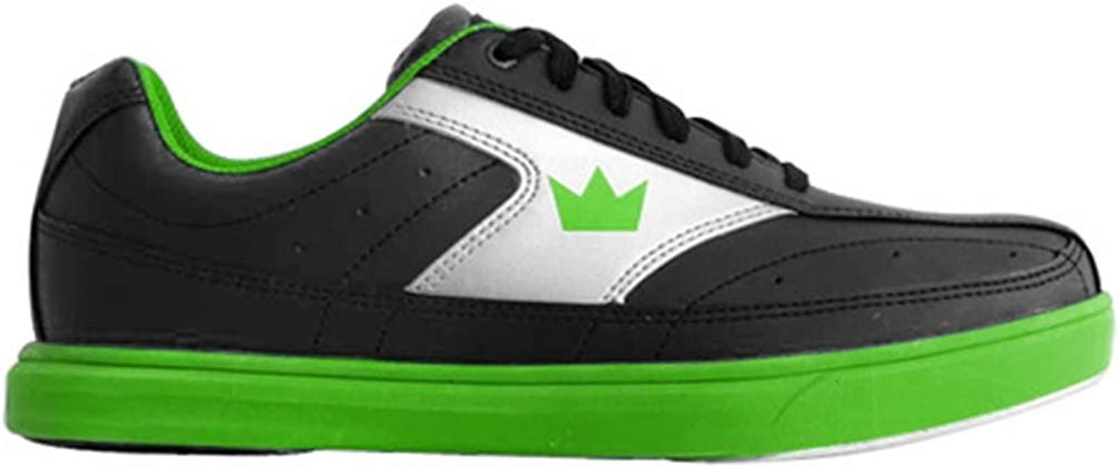 Brunswick Frenzy Mens Bowling Shoe Navy//Green 13.0