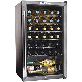 Amazon Com Newair Awc 330e 33 Bottle Compressor Wine