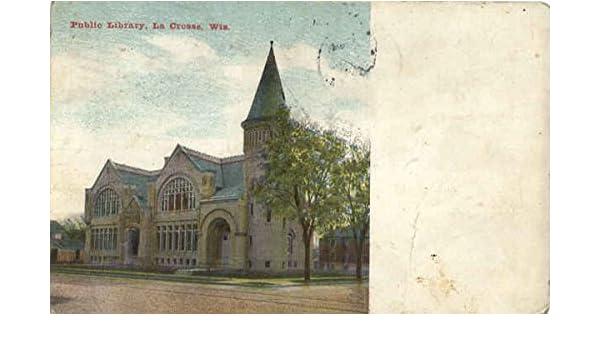 Amazon com: Public Library La Crosse, Wisconsin Original Vintage