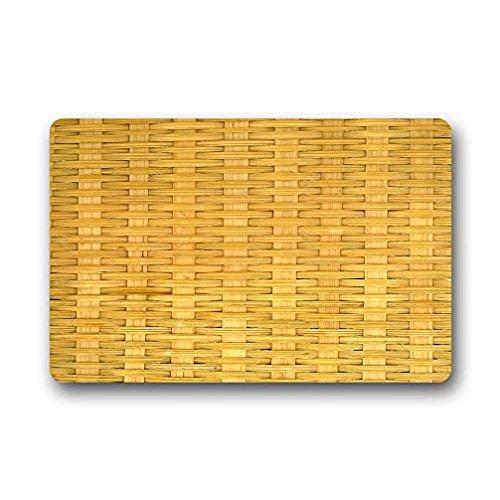 Best Music Posters Doormat Bamboo Outdoor/Indoor Rubber Backed Non-Slip Front Door Entrance Doormat 23.6 x 15.7 Inches Decor Rug Carpets -