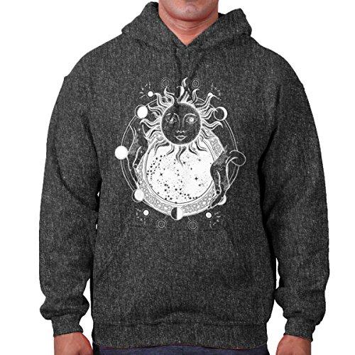 Brisco Brands Celestial Sun Space Mystic Shirt | Weird Symbol Alchemy Life Hoodie Sweatshirt