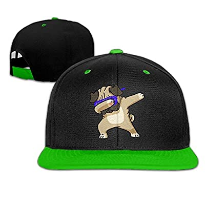 jiao87 Funny Dabbing Pug Dog Snapback Hats Hip Hop Baseball Caps by jia87