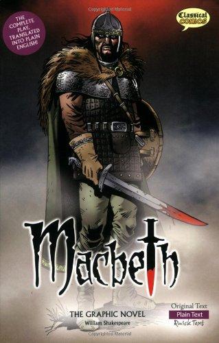 Macbeth The Graphic Novel  Plain Text  Classical Comics