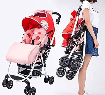 XUE Carrito de bebé Ultraligero y cómodo, reclinable y ...