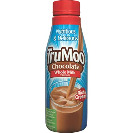Trumoo Chocolate Ultra Pasteurized Whole Milk, 14 Fluid ...