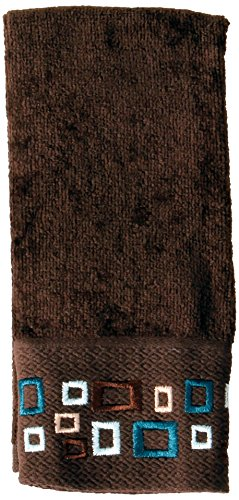 Saturday Knight Esquire Tip Towel, Brown by Saturday Knight