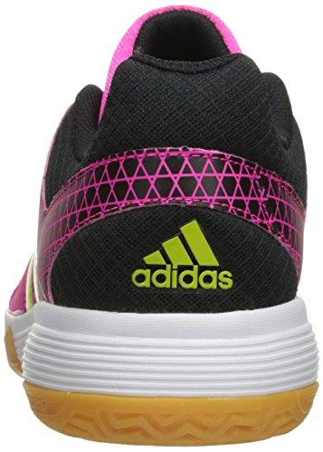 Adidas Performance Womens Ligra 4 W Scarpa Da Pallavolo Shock Pink / Semi Solar Slime / Nero