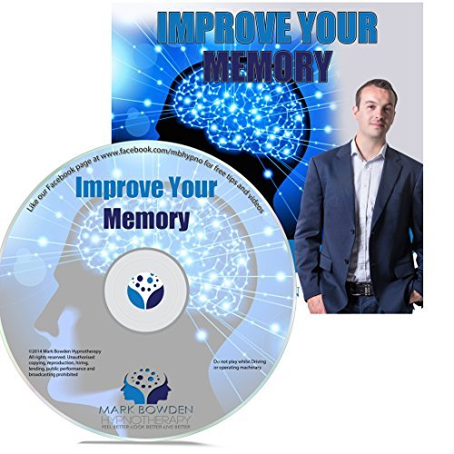 Improve Your Memory Self Hypnosis CD / MP3 and APP (3 IN 1 PURCHASE!) - Hypnotherapy CD to Enhance Memory to Remember Names Better and Improve Memory Recall (Best Meditation App For Anxiety)