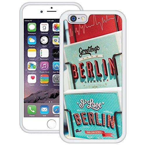 Grüße von Berlin   Handgefertigt   iPhone 6 6s (4,7')   Weiß Hülle